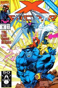 Cover for X-Factor (Marvel, 1986 series) #65 [Direct Edition]