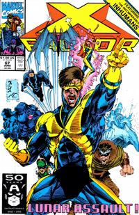 Cover for X-Factor (Marvel, 1986 series) #67 [Direct Edition]