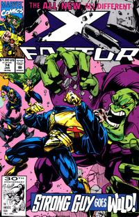 Cover Thumbnail for X-Factor (Marvel, 1986 series) #74 [Direct Edition]