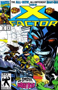 Cover Thumbnail for X-Factor (Marvel, 1986 series) #75 [Direct Edition]