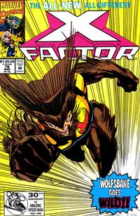 Cover Thumbnail for X-Factor (Marvel, 1986 series) #76 [Direct Edition]