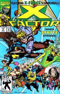Cover Thumbnail for X-Factor (Marvel, 1986 series) #77 [Direct Edition]