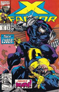 Cover Thumbnail for X-Factor (Marvel, 1986 series) #81 [Direct Edition]