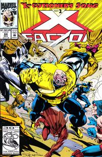 Cover Thumbnail for X-Factor (Marvel, 1986 series) #84 [Direct]