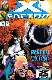 Cover Thumbnail for X-Factor (Marvel, 1986 series) #88 [Direct Edition]