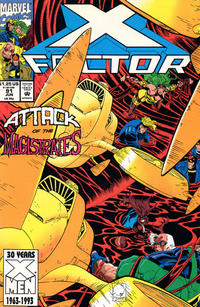 Cover Thumbnail for X-Factor (Marvel, 1986 series) #91 [Direct Edition]