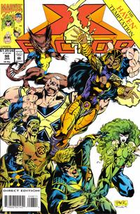 Cover for X-Factor (Marvel, 1986 series) #98 [Direct Edition]