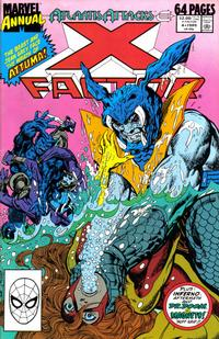 Cover Thumbnail for X-Factor Annual (Marvel, 1986 series) #4 [Direct]