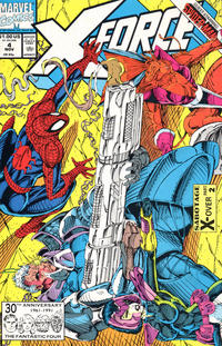 Cover Thumbnail for X-Force (Marvel, 1991 series) #4 [Direct Edition]