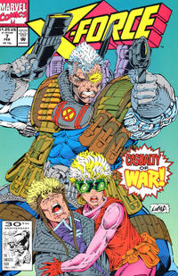 Cover Thumbnail for X-Force (Marvel, 1991 series) #7 [Direct]