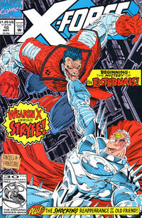Cover Thumbnail for X-Force (Marvel, 1991 series) #10 [Direct]