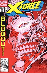 Cover Thumbnail for X-Force (Marvel, 1991 series) #13 [Direct]