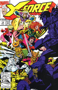 Cover Thumbnail for X-Force (Marvel, 1991 series) #14 [Direct]