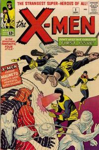 Cover Thumbnail for The X-Men (Marvel, 1963 series) #1