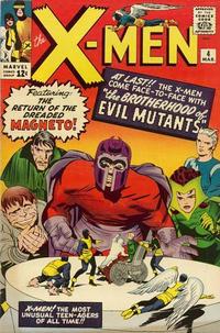Cover Thumbnail for The X-Men (Marvel, 1963 series) #4