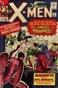 Cover Thumbnail for The X-Men (Marvel, 1963 series) #5