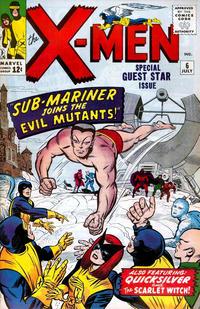 Cover Thumbnail for The X-Men (Marvel, 1963 series) #6
