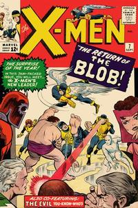 Cover Thumbnail for The X-Men (Marvel, 1963 series) #7