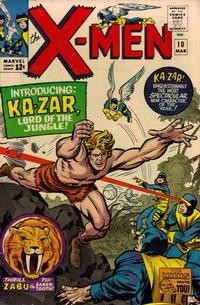 Cover Thumbnail for The X-Men (Marvel, 1963 series) #10