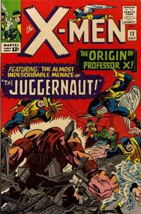 Cover Thumbnail for The X-Men (Marvel, 1963 series) #12