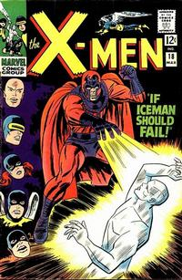 Cover for The X-Men (Marvel, 1963 series) #18
