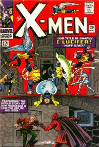 Cover Thumbnail for The X-Men (Marvel, 1963 series) #20