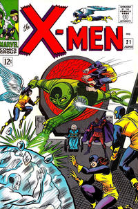 Cover Thumbnail for The X-Men (Marvel, 1963 series) #21
