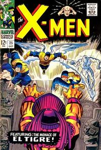 Cover Thumbnail for The X-Men (Marvel, 1963 series) #25