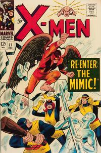 Cover Thumbnail for The X-Men (Marvel, 1963 series) #27