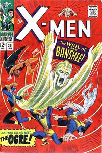 Cover for The X-Men (Marvel, 1963 series) #28