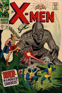 Cover Thumbnail for The X-Men (Marvel, 1963 series) #34