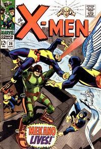 Cover Thumbnail for The X-Men (Marvel, 1963 series) #36