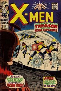 Cover Thumbnail for The X-Men (Marvel, 1963 series) #37