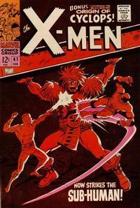 Cover for The X-Men (Marvel, 1963 series) #41