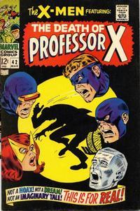 Cover Thumbnail for The X-Men (Marvel, 1963 series) #42