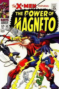 Cover Thumbnail for The X-Men (Marvel, 1963 series) #43