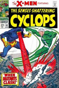 Cover Thumbnail for The X-Men (Marvel, 1963 series) #45