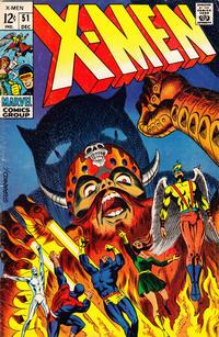 Cover Thumbnail for The X-Men (Marvel, 1963 series) #51
