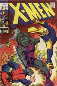 Cover Thumbnail for The X-Men (Marvel, 1963 series) #53