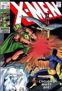 Cover Thumbnail for The X-Men (Marvel, 1963 series) #54