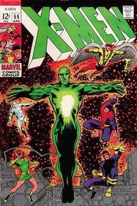 Cover Thumbnail for The X-Men (Marvel, 1963 series) #55