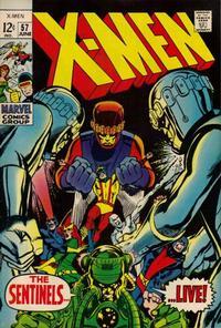 Cover Thumbnail for The X-Men (Marvel, 1963 series) #57