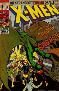 Cover Thumbnail for The X-Men (Marvel, 1963 series) #60 [Regular Edition]