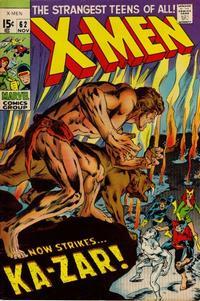 Cover Thumbnail for The X-Men (Marvel, 1963 series) #62