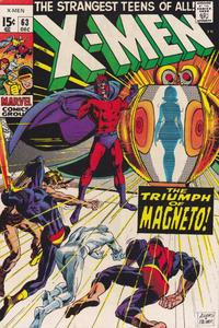 Cover Thumbnail for The X-Men (Marvel, 1963 series) #63