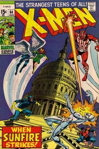 Cover for The X-Men (Marvel, 1963 series) #64