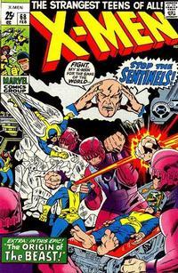 Cover Thumbnail for The X-Men (Marvel, 1963 series) #68