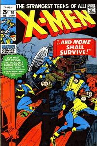 Cover Thumbnail for The X-Men (Marvel, 1963 series) #70