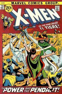 Cover Thumbnail for The X-Men (Marvel, 1963 series) #73