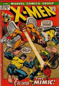 Cover Thumbnail for The X-Men (Marvel, 1963 series) #75